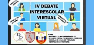IV Debate Interescolar Virtual
