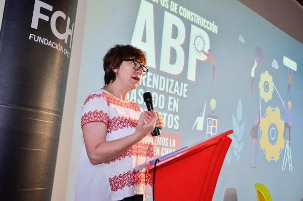 Francisca Petrovich, Coordinadora de Innovación Educativa para el Mejoramiento Escolar Centro de Desarrollo Humano Fundación Chile.